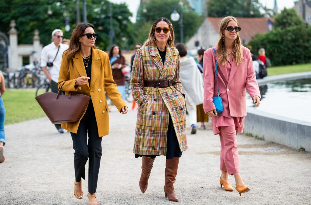 Fashion week trendy 2020
