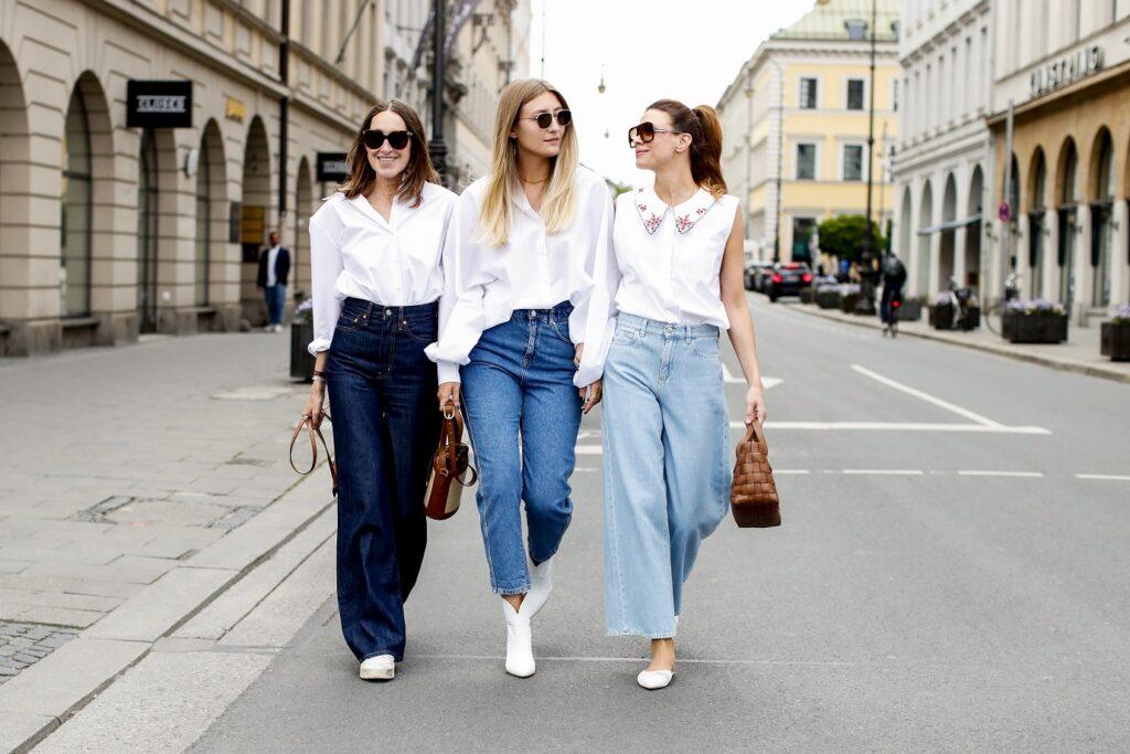 rodzaje jeansów damskich - co kryje się pod nazwami modeli spodni