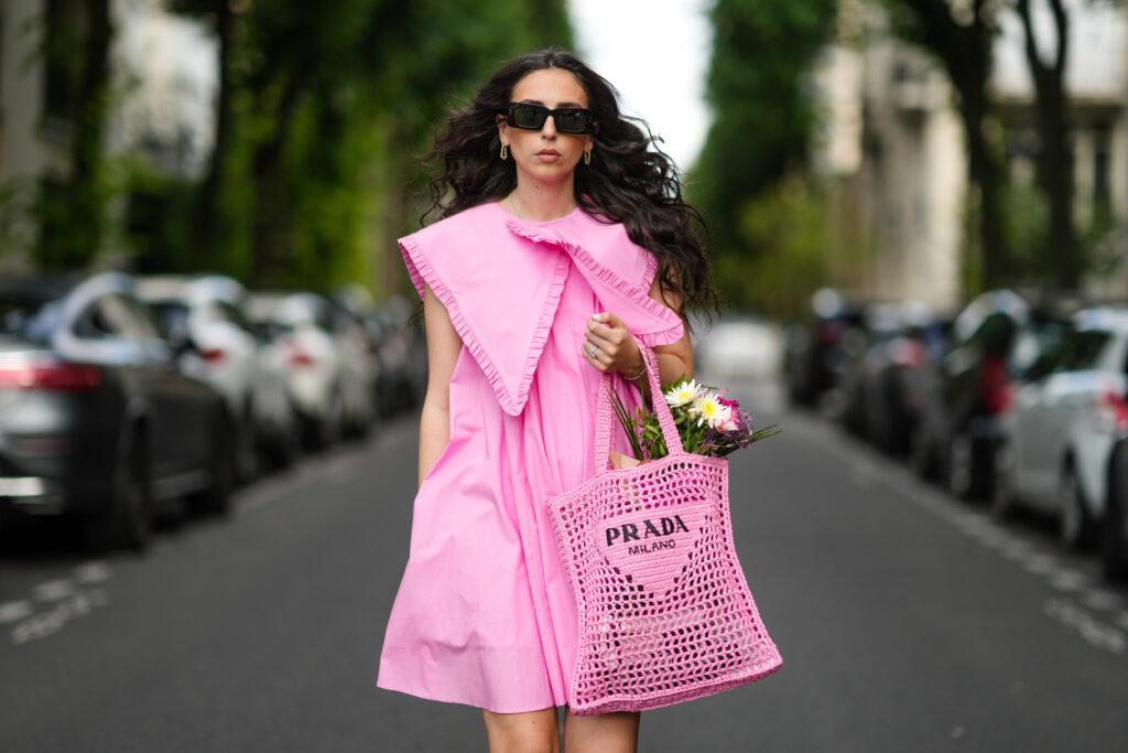 jakie buty do pudrowej sukienki editorial